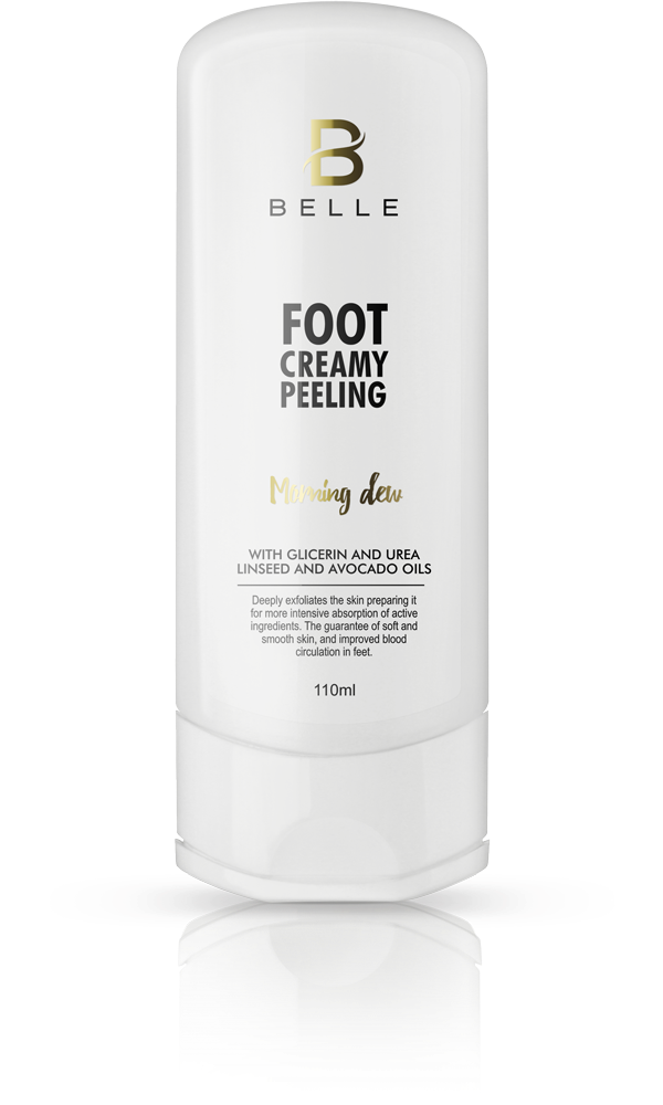 Belle® Foot creamy peeling cream 110 ml