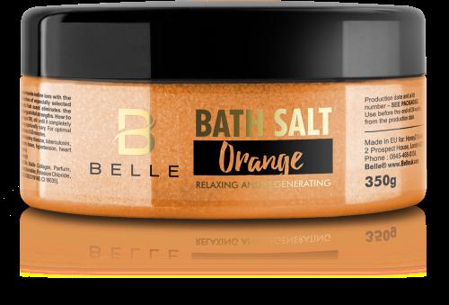 Belle® Orange Bath Salts Mineral Aromatherapy Salts 350g