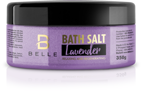 Belle® Lavender Aromatherapy Bath Salts 350g