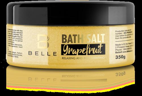 Belle® Grapefruit Mineral Relaxing Bath Salts 350g