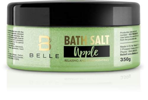 Belle® Apple Bath Salt 350g