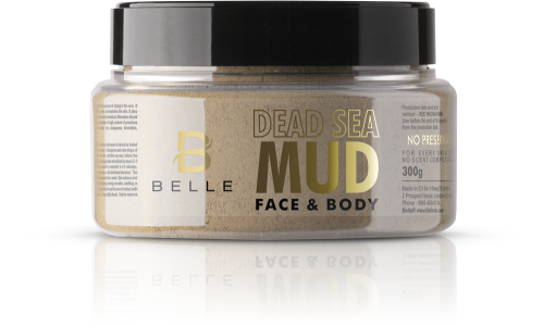 Belle® Dead Sea Mud for Face and Body 300g