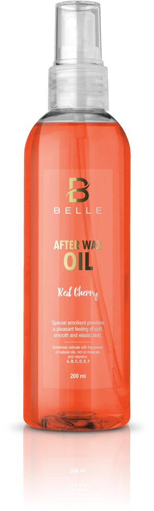 Belle® After wax liquid oil Red Cherry 200 ml