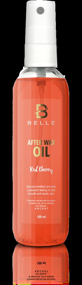 Belle® After wax liquid oil Red Cherry Flavor -100 ml