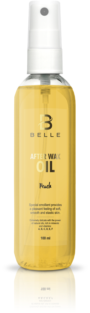 Belle® After wax liquid oil Peach Flavor - 100 ml