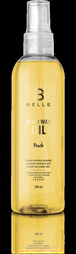 Belle® After wax liquid oil Peach Flavor - 200 ml