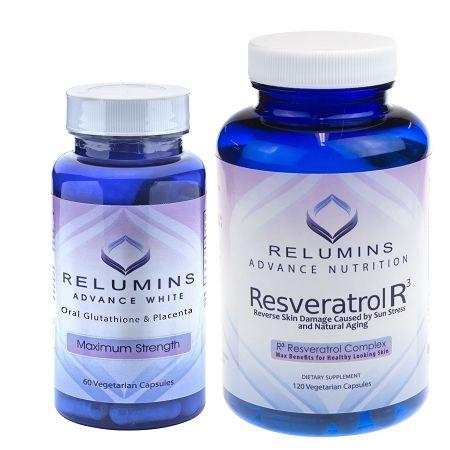 Relumins Advanced White Oral Whitening & Anti-Aging Stack