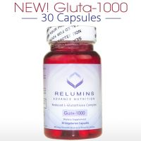 Relumins Advance Nutrition Gluta 1000 - Reduced L-Glutathione Complex - 30 CAPSULES (15 DAY SUPPLY)