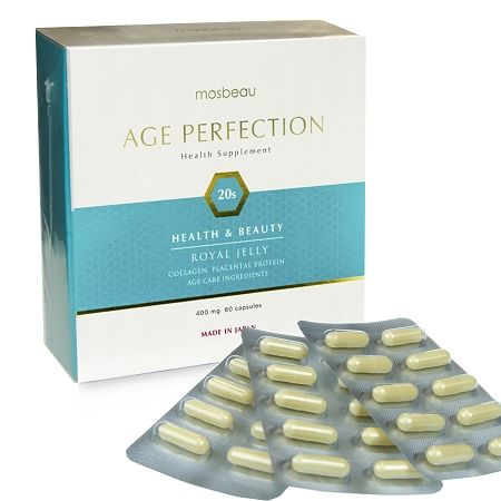 Mosbeau Age Perfection 20s! The ultimate food supplement with excellent ben