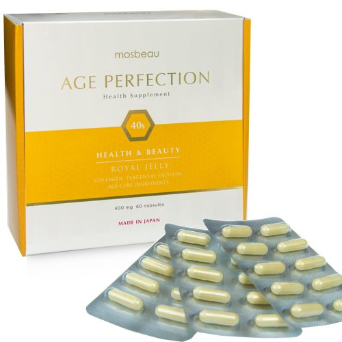 Mosbeau Age Perfection 40s! Get powerful nutrients to help cope with the un