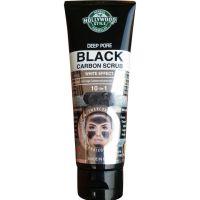 Hollywood Style Deep Pore Black Carbon Scrub 100ml