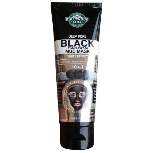 Hollywood Style Deep Pore Black Carbon Mud Mask 100ml