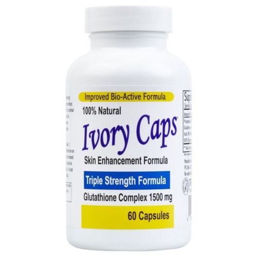 <!-- 001 -->Ivory Caps Skin Enhancement Glutathione Complex 1500mg - Triple