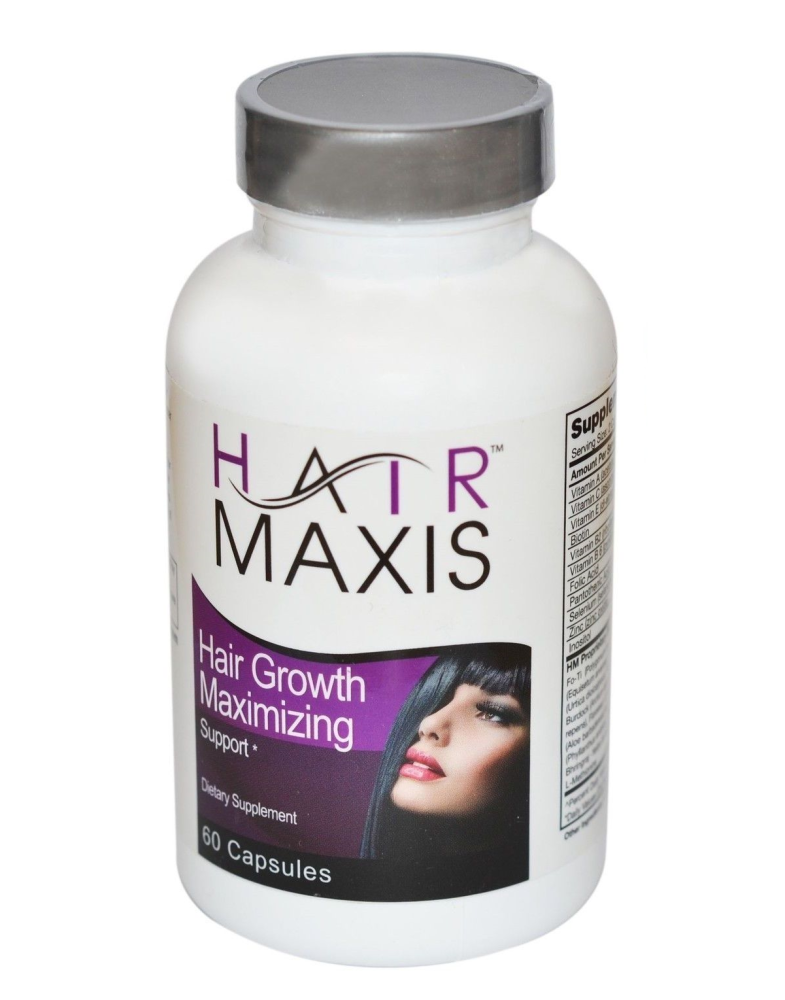 Hair Maxis Natural Faster Growing Stronger Hair Support Stop Hair Loss 60 C