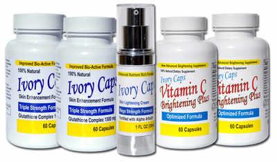 <!-- 002 -->System 2 (Advanced System) Skin Whitening Lightening Support Sy