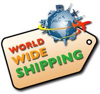 worldwide shippng