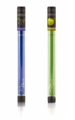 BLUEBERY + APPLE - Shisha Star pens Premium grade pen made with a crystal t