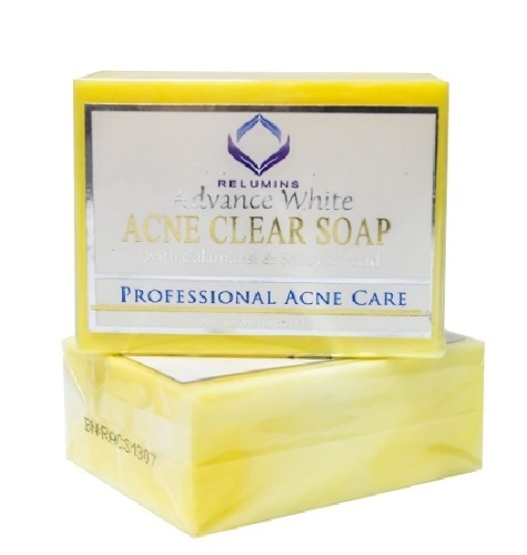 Authentic Relumins Medicated Professional Acne Clear Soap with Calamansi &