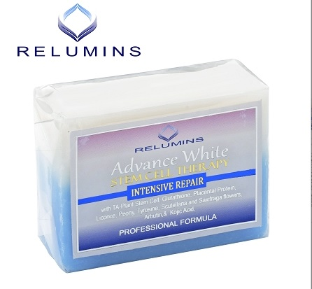 Relumins Advance Whitening Soap With Intensive Skin Repair & Stem Cell Ther