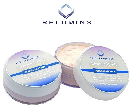Authentic Relumins Advance Whitening Facial Cream With TA Stem Cell & Place