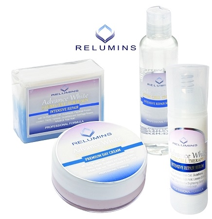 Authentic Relumins Advance White Facial Set MAX - TA Stem Cell Premium Day