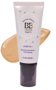 Original Etude House Precious Mineral BB Cream - Bright Fit SPF30 PA++ - W1