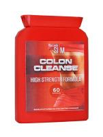 YLS Colon Cleanse High Strength Formula 60 Pillen Nahrungsergänzung Flachflasche