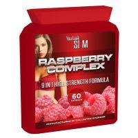 YLS Raspberry Complex High Strength Formula 60 Pills Food Supplement flat bottle
