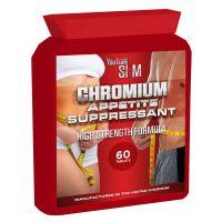 YLS Chromium Appetite Suppressant High Strength Formula 60 pills Flat bottle