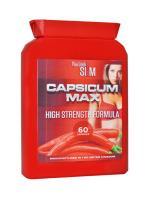 YLS Capsicum Max High Strength Formula Diet Supplement 60 Pills Flat bottle