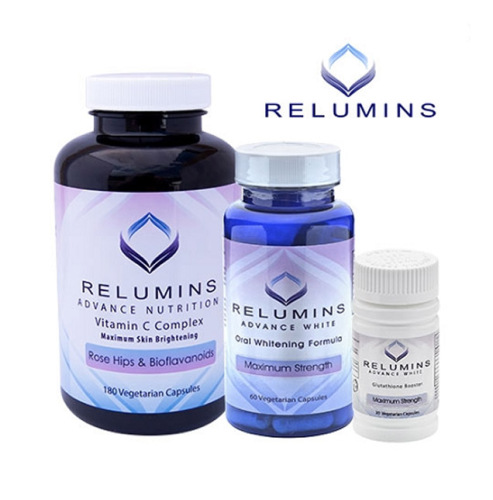 Relumins Advanced White Oral Glutathione, Vitamin C MAX & Booster Capsules