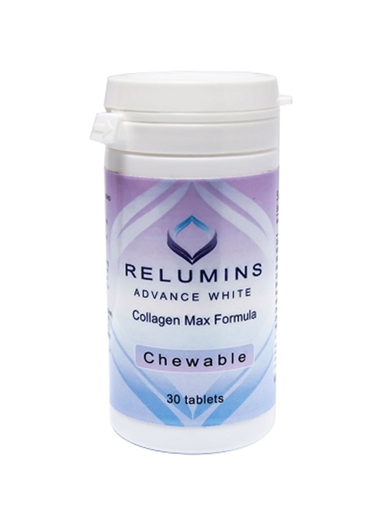 Relumins Advanced White Collagen MAX Formula- Chewable - Firms, Whitens, r