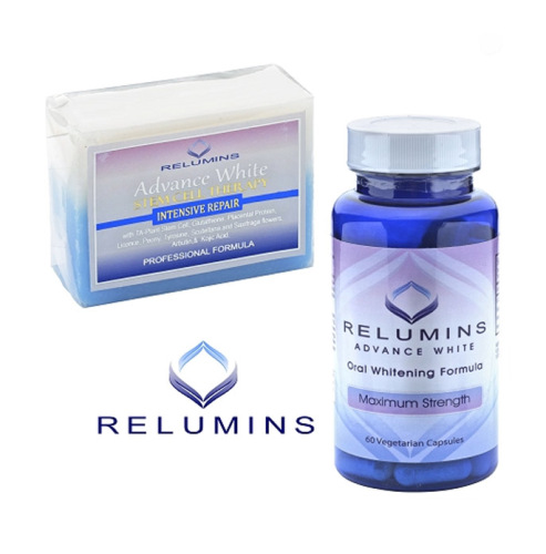 Relumins Whitening Set - Advance White Oral Glutathione & Stem Cell Intens