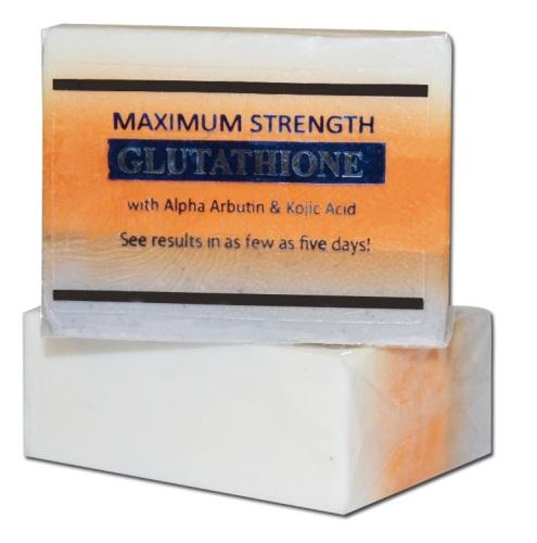 <!-- 003 --> Premium Maximum Whitening Peeling Soap with Glutathione, Arbut