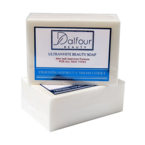Dalfour Beauty Ultrawhite Beauty Soap - Great for All Skin Types