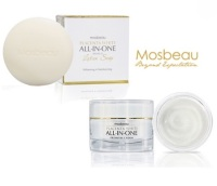 Authentic Mosbeau Placenta White Facial Cream & Soap - 2pc Whitening Set