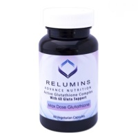 3 Bottles of Relumins Advance White Active Glutathione Complex -Oral Whitening Formula Capsules with 6X Boosters