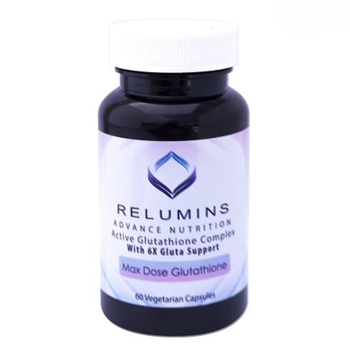 3 BOTTLES AUTHENIC RELUMINS ADVANCE WHITE ACTIVE GLUTATHIONE COMPLEX -ORAL