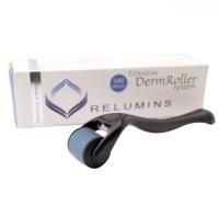 "Relumins ""Advance Titanium"" Professional DermRoller & Micro Needling Therapy System - 540 Needle"
