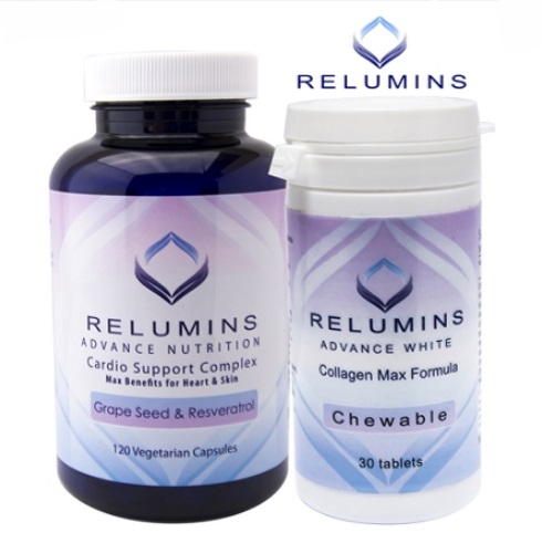 RELUMINS ADVANCED COLLAGEN MAX & SKIN REJUVENATION STACK