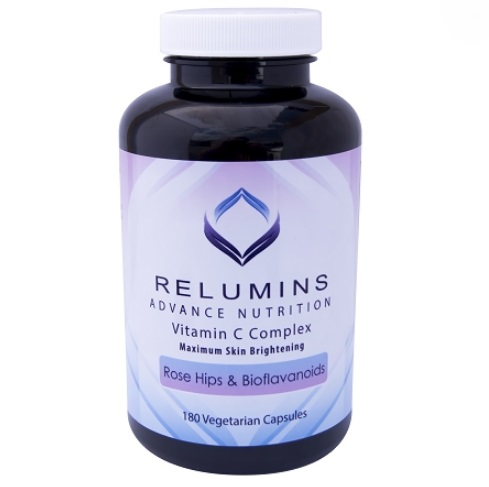 10 BOTTLES OF RELUMINS ADVANCE VITAMIN C - MAX SKIN WHITENING COMPLEX WITH