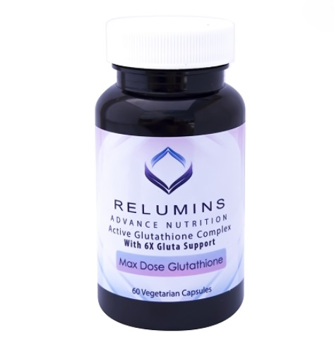 10 BOTTLES AUTHENIC RELUMINS ADVANCE WHITE ACTIVE GLUTATHIONE COMPLEX -ORAL