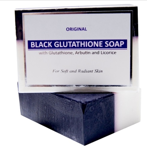 New Glutathione & Arbutin/Licorice Black & White Soap 120g Whitening & Blea