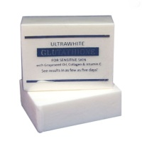 12 Bars of Premium Ultrawhite Glutathione Whitening Soap for Sensitive Skin, w/ Glutathione, Grapeseed Oil, Collagen, Vitamin C
