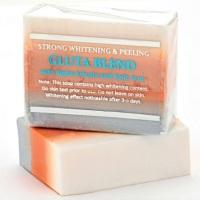 12 Bars of Premium Whitening/Peeling Soap w/ Glutathione, Arbutin, and Kojic acid