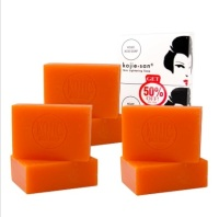 3 Packs Of kojie San Skin Lightening Kojie Acid Soap (2 Bars Per pack) - 135g