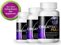 (Pack of 3) Creatine Createch Max Protein Supplement Max Strength Formulla