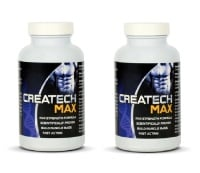 (Pack of 2) Creatine Createch Max Protein Supplement Max Strength Formulla