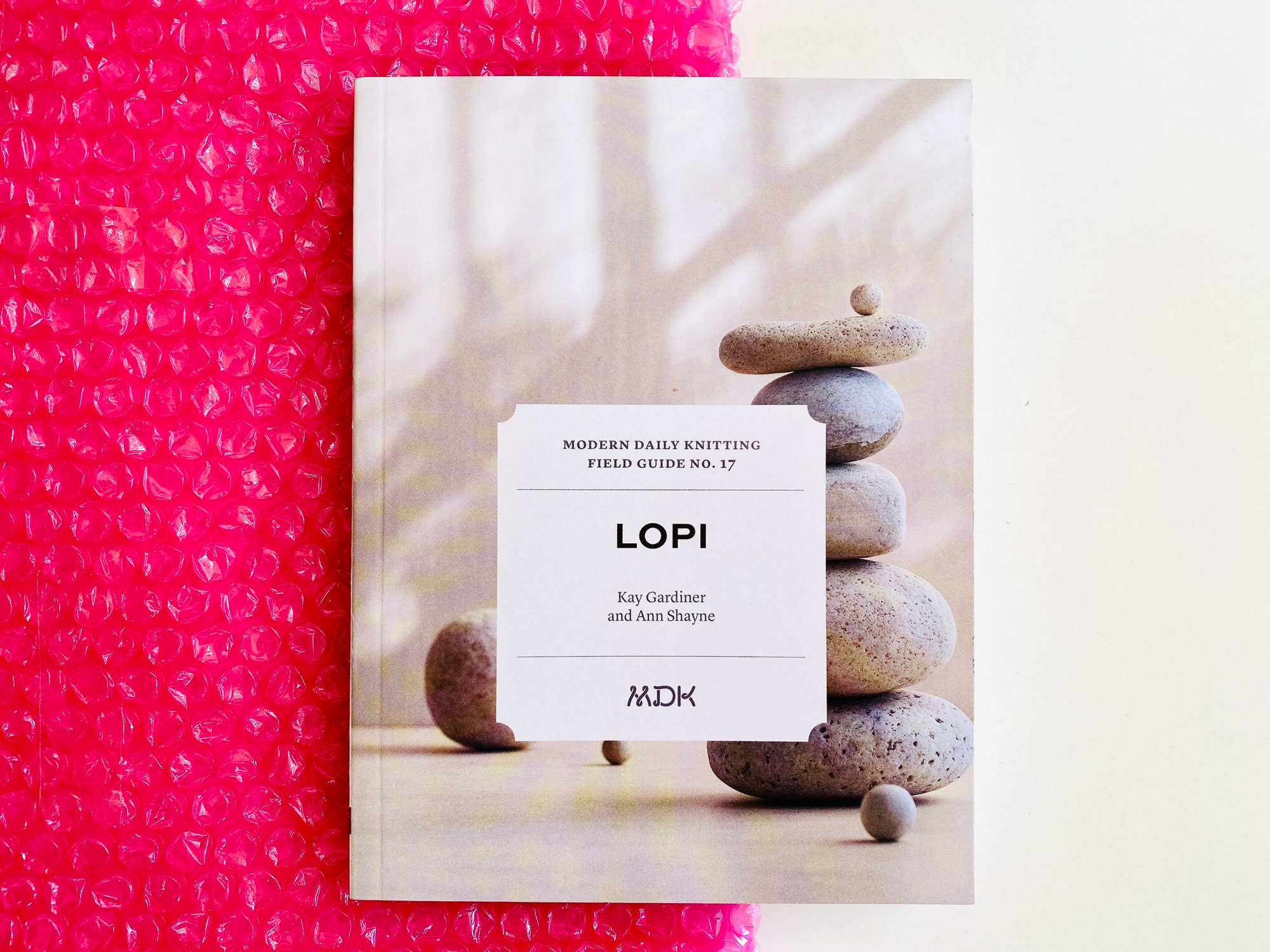 Cover image of Modern Daily Knitting Field Guide no 17 Lopi