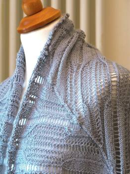 Diamond Corner Shawl PDF Pattern